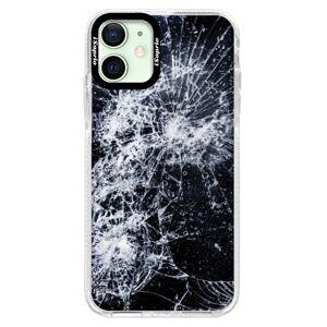 Silikónové puzdro Bumper iSaprio - Cracked - iPhone 12