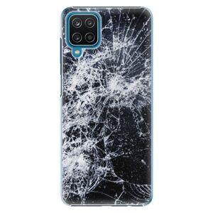 Plastové puzdro iSaprio - Cracked - Samsung Galaxy A12