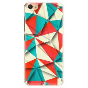 Plastové puzdro iSaprio - Origami Triangles - Xiaomi Mi5