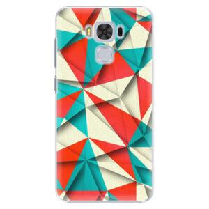 Plastové puzdro iSaprio - Origami Triangles - Asus ZenFone 3 Max ZC553KL
