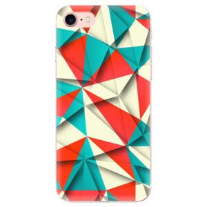 Odolné silikónové puzdro iSaprio - Origami Triangles - iPhone 7
