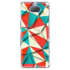 Plastové puzdro iSaprio - Origami Triangles - Sony Xperia 10 Plus