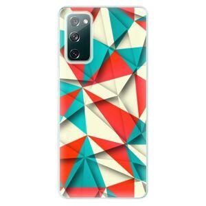 Odolné silikónové puzdro iSaprio - Origami Triangles - Samsung Galaxy S20 FE