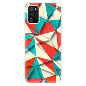 Odolné silikónové puzdro iSaprio - Origami Triangles - Samsung Galaxy A02s