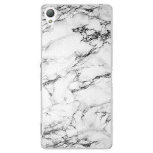 Plastové puzdro iSaprio - White Marble 01 - Sony Xperia Z3
