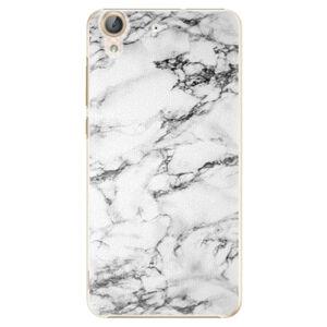 Plastové puzdro iSaprio - White Marble 01 - Huawei Y6 II