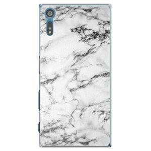Plastové puzdro iSaprio - White Marble 01 - Sony Xperia XZ
