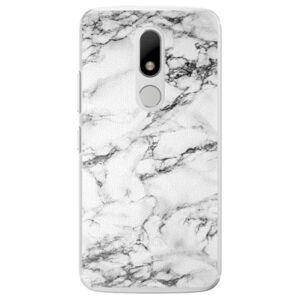 Plastové puzdro iSaprio - White Marble 01 - Lenovo Moto M