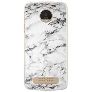 Plastové puzdro iSaprio - White Marble 01 - Lenovo Moto Z Play