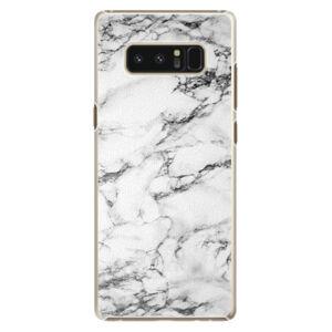 Plastové puzdro iSaprio - White Marble 01 - Samsung Galaxy Note 8