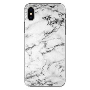 Plastové puzdro iSaprio - White Marble 01 - iPhone X