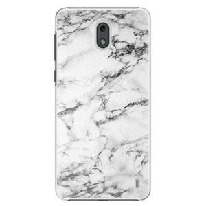 Plastové puzdro iSaprio - White Marble 01 - Nokia 2