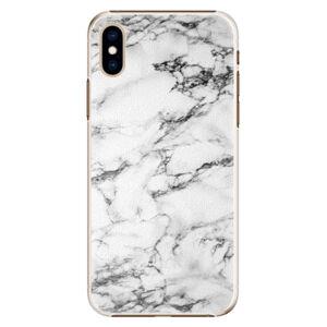 Plastové puzdro iSaprio - White Marble 01 - iPhone XS