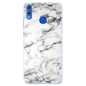 Silikónové puzdro iSaprio - White Marble 01 - Huawei Honor 8X