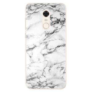 Silikónové puzdro iSaprio - White Marble 01 - Xiaomi Redmi 5 Plus