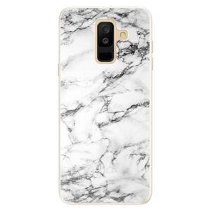 Silikónové puzdro iSaprio - White Marble 01 - Samsung Galaxy A6+