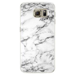 Silikónové puzdro iSaprio - White Marble 01 - Samsung Galaxy S6