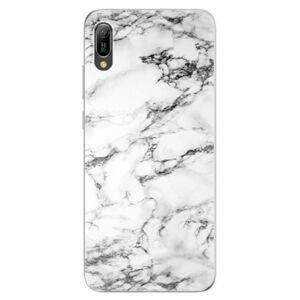 Odolné silikonové pouzdro iSaprio - White Marble 01 - Huawei Y6 2019