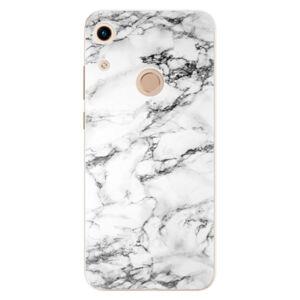 Odolné silikónové puzdro iSaprio - White Marble 01 - Huawei Honor 8A