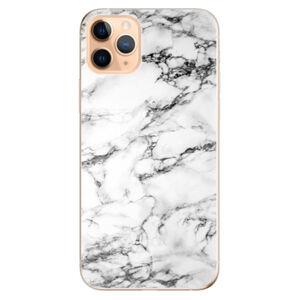 Odolné silikónové puzdro iSaprio - White Marble 01 - iPhone 11 Pro Max