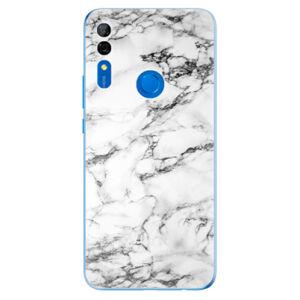 Odolné silikónové puzdro iSaprio - White Marble 01 - Huawei P Smart Z
