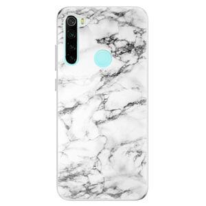 Odolné silikónové puzdro iSaprio - White Marble 01 - Xiaomi Redmi Note 8