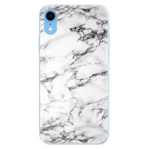 Odolné silikónové puzdro iSaprio - White Marble 01 - iPhone XR