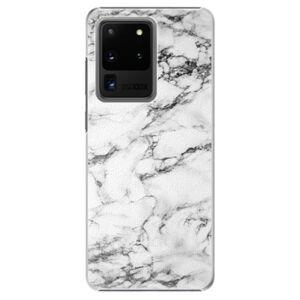 Plastové puzdro iSaprio - White Marble 01 - Samsung Galaxy S20 Ultra