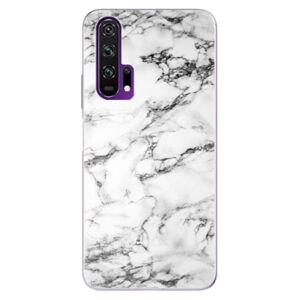 Odolné silikónové puzdro iSaprio - White Marble 01 - Honor 20 Pro