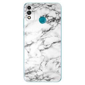 Odolné silikónové puzdro iSaprio - White Marble 01 - Honor 9X Lite