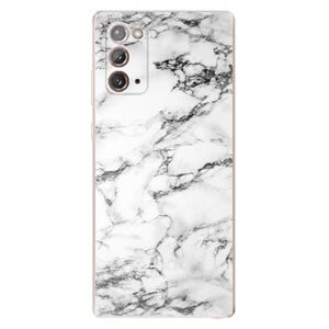 Odolné silikónové puzdro iSaprio - White Marble 01 - Samsung Galaxy Note 20