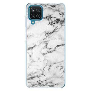 Plastové puzdro iSaprio - White Marble 01 - Samsung Galaxy A12