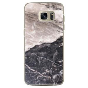 Plastové puzdro iSaprio - BW Marble - Samsung Galaxy S7