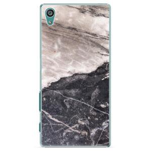 Plastové puzdro iSaprio - BW Marble - Sony Xperia Z5