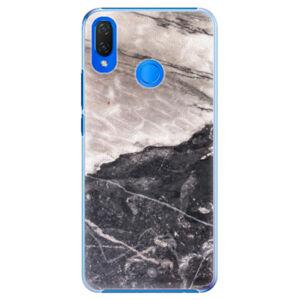 Plastové puzdro iSaprio - BW Marble - Huawei Nova 3i