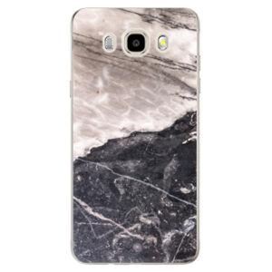 Odolné silikónové puzdro iSaprio - BW Marble - Samsung Galaxy J5 2016