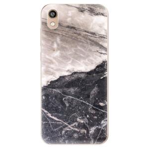 Odolné silikónové puzdro iSaprio - BW Marble - Huawei Honor 8S