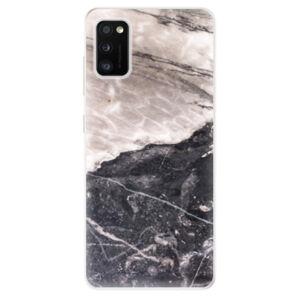 Odolné silikónové puzdro iSaprio - BW Marble - Samsung Galaxy A41