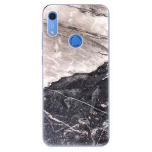 Odolné silikónové puzdro iSaprio - BW Marble - Huawei Y6s