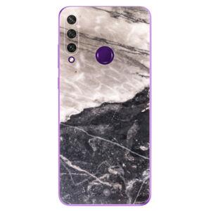 Odolné silikónové puzdro iSaprio - BW Marble - Huawei Y6p