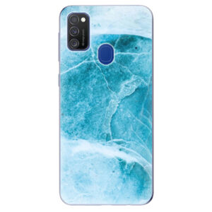 Odolné silikónové puzdro iSaprio - Blue Marble - Samsung Galaxy M21