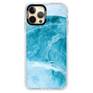Silikónové puzdro Bumper iSaprio - Blue Marble - iPhone 12 Pro Max