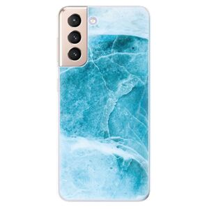 Odolné silikónové puzdro iSaprio - Blue Marble - Samsung Galaxy S21