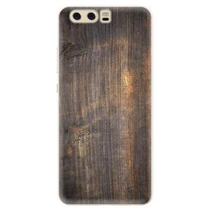 Silikónové puzdro iSaprio - Old Wood - Huawei P10