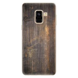 Odolné silikónové puzdro iSaprio - Old Wood - Samsung Galaxy A8 2018