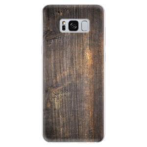 Odolné silikónové puzdro iSaprio - Old Wood - Samsung Galaxy S8