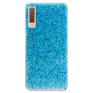 Odolné silikónové puzdro iSaprio - Shattered Glass - Samsung Galaxy A7 (2018)