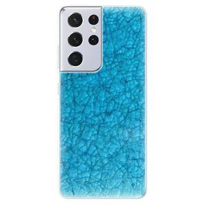 Odolné silikónové puzdro iSaprio - Shattered Glass - Samsung Galaxy S21 Ultra