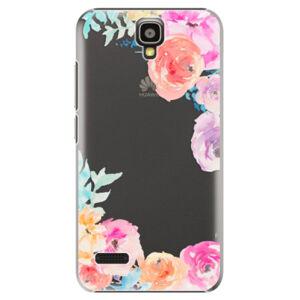 Plastové puzdro iSaprio - Flower Brush - Huawei Ascend Y5