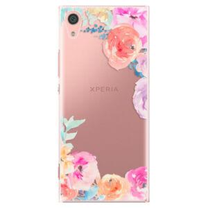 Plastové puzdro iSaprio - Flower Brush - Sony Xperia XA1